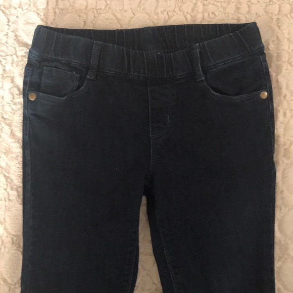 Gymboree Girls Jeggings Dark Blue Pull On Waist Jeans NWT Size 18-24 M